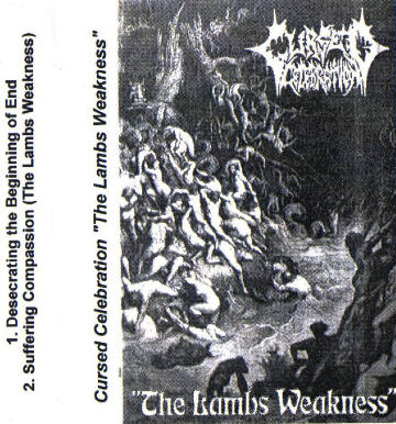 Cursed Celebration - The Lambs Weakness