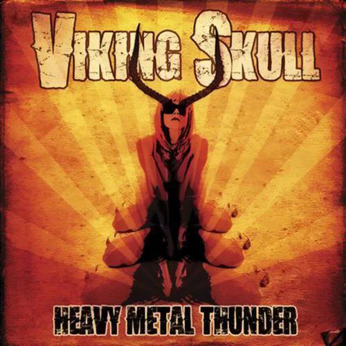 Viking Skull - Heavy Metal Thunder
