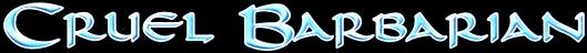Cruel Barbarian - Logo