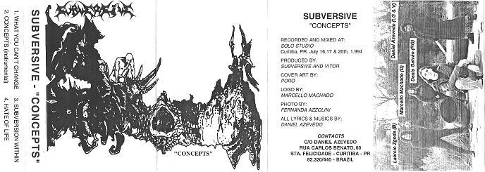 Subversive - Concepts