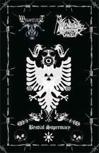 Ravendark's Monarchal Canticle / Wargoatcult - Bestial Supremacy