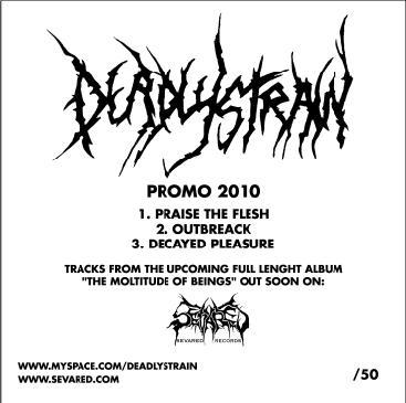 Deadlystrain - Promo 2010