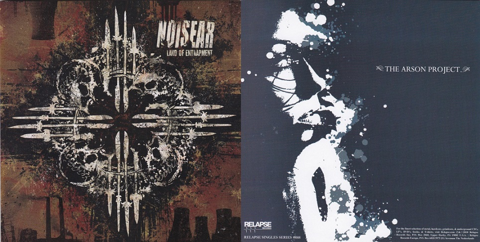 The Arson Project / Noisear - Land of Entrapment / Untitled
