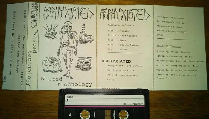 Asphyxiated - Wasted Technology