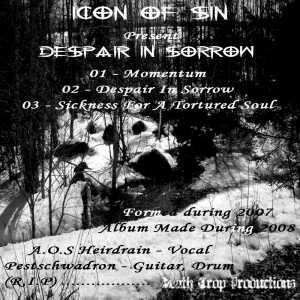 Icon of Sin - Despair in Sorrow