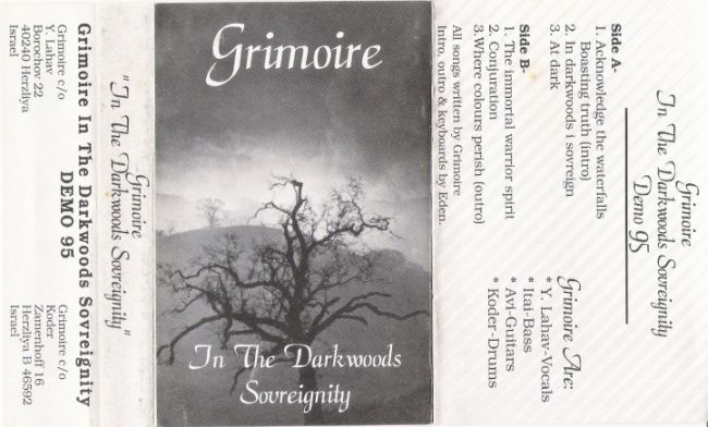 Grimoire - In the Darkwoods Sovereignity