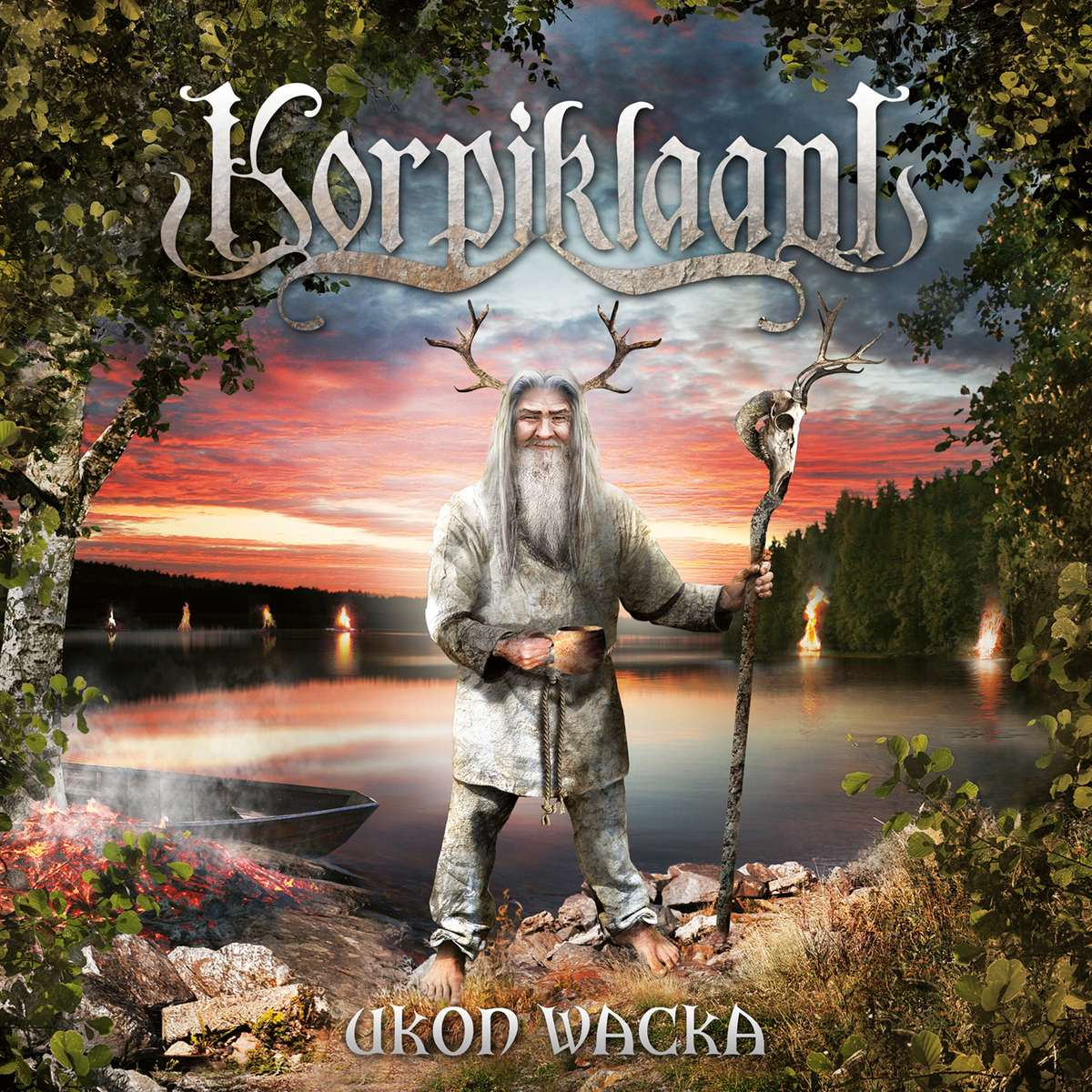 Cover of Korpiklaani - Ukon Wacka
