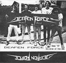 Deafen Force - Children Of The Sea