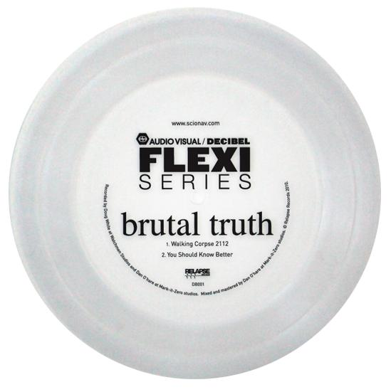Brutal Truth - Decibel Flexi Series