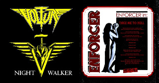 Enforcer / Volture - Take Me to Hell / Night Walker