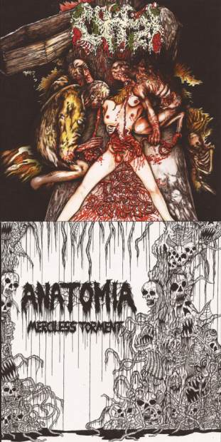 Anatomia / Offal - Over There, Guts Everywhere / Merciless Torment