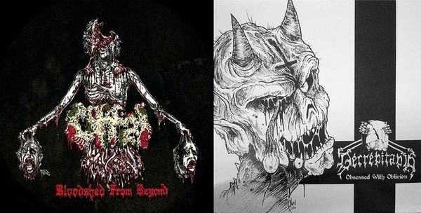 Decrepitaph / Offal - Bloodshed from Beyond / Obsessed with Oblivion