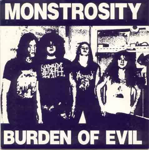 Monstrosity - Burden of Evil