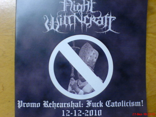 Night Witchcraft - Promo Rehearshal: Fuck Catolicism!