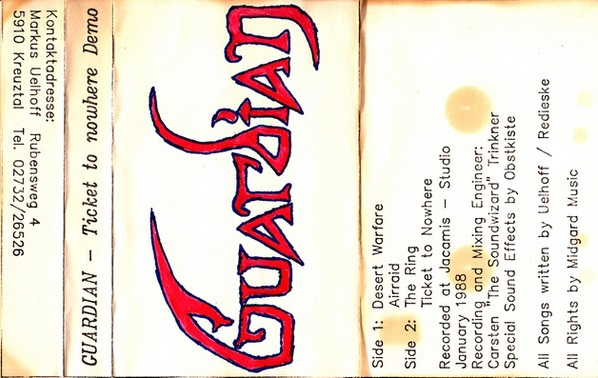 Guardian - Ticket to Nowhere
