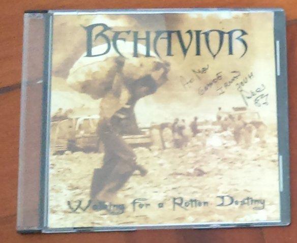 Behavior - Walking for a Rotten Destiny