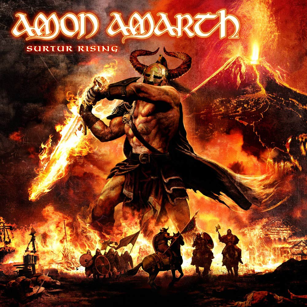 Cover of Amon Amarth - Surtr Rising