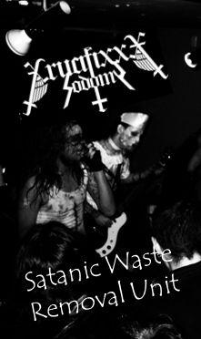 Crucifixxx Sodomy - Satanic Waste Removal Unit