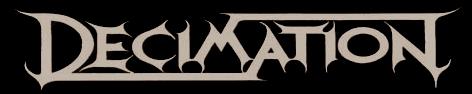 Decimation - Logo