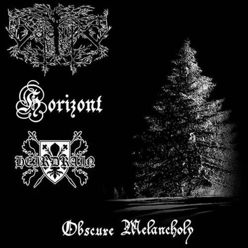 Heirdrain / Satanic Forest - Obscure Melancholy