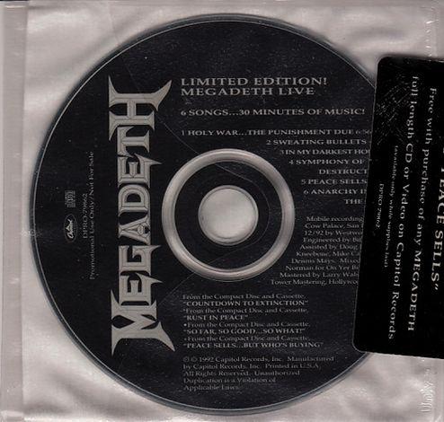 Megadeth - Limited Edition! Megadeth Live