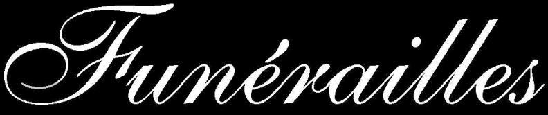 Funérailles - Logo