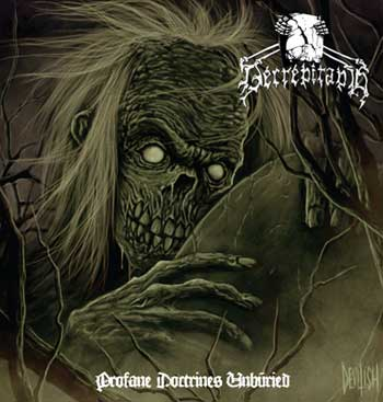 Cover of Decrepitaph - Profane Doctrines Unburied