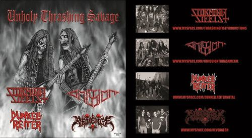 Dunkell Reiter / Omission / Revenge / Storming Steels - Unholy Thrashing Savage