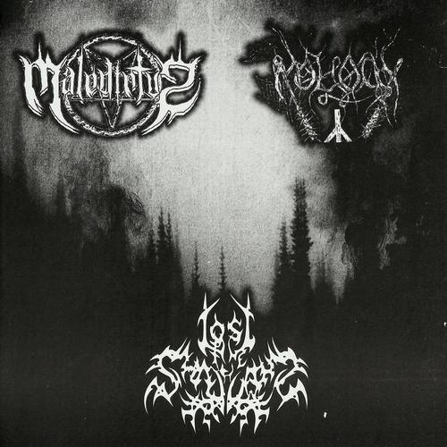 Lost in the Shadows / Moloch / Maledictvs - Maledictvs / Moloch / Lost in the Shadows