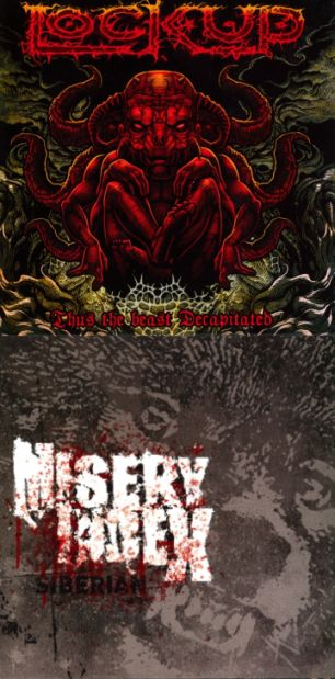 Misery Index / Lock Up - Thus the Beast Decapitated / Siberian