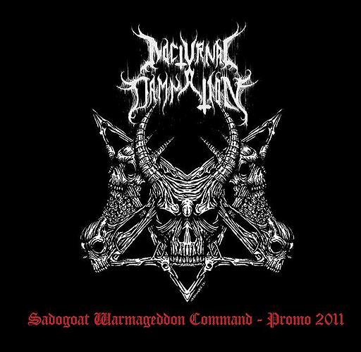 Nocturnal Damnation - Sadogoat Warmageddon Command - Promo 2011