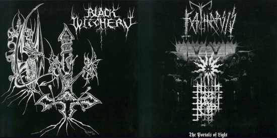 Black Witchery / Katharsis - Katharsis / Black Witchery
