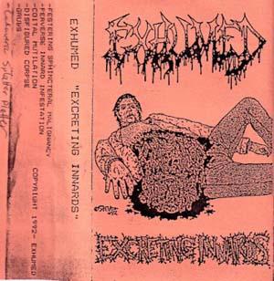 Exhumed - Excreting Innards