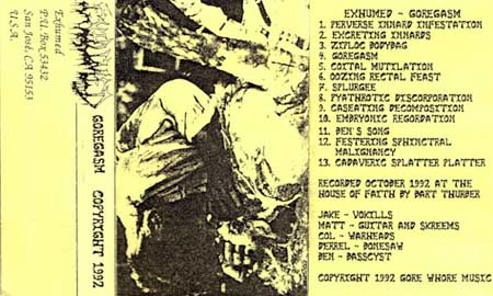 Exhumed - Goregasm