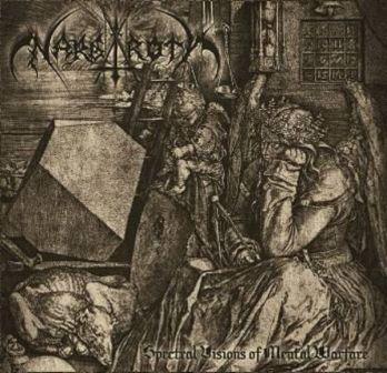 Nargaroth / Nychts - Spectral Visions of Mental Warfare
