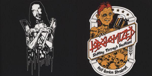 Bonesaw / Lobotomized - Bonesaw / Shitting Through Scotland (Hail Gordon Strachan!)