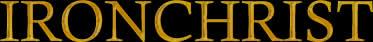 Ironchrist - Logo