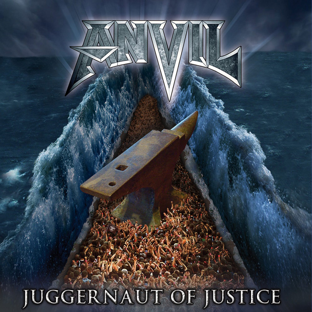 Cover of Anvil - Juggernaut Of Justice