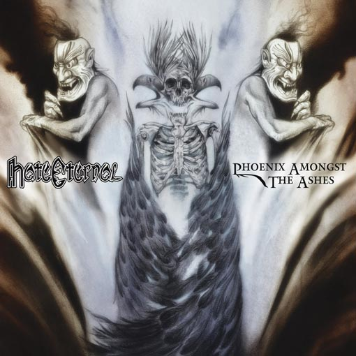 Cover of Hate Eternal - Phoenix Amongst The Ashes