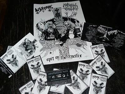 Nocturnal Hell / Insulters - Spit on the Crucifix