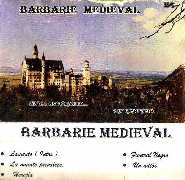 Barbarie Medieval - En la oscuridad... un lamento