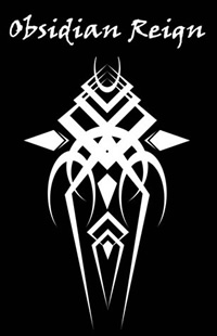 Obsidian Reign - Logo