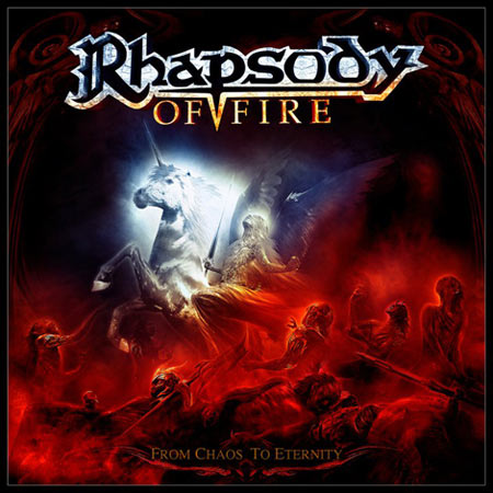 Cover of Rhapsody Of Fire - From Chaos To Eternity