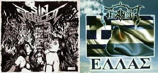 Feanor / Sin Starlett - Black Magic Sky / Hellas