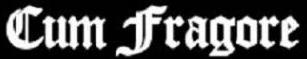 Cum Fragore - Logo
