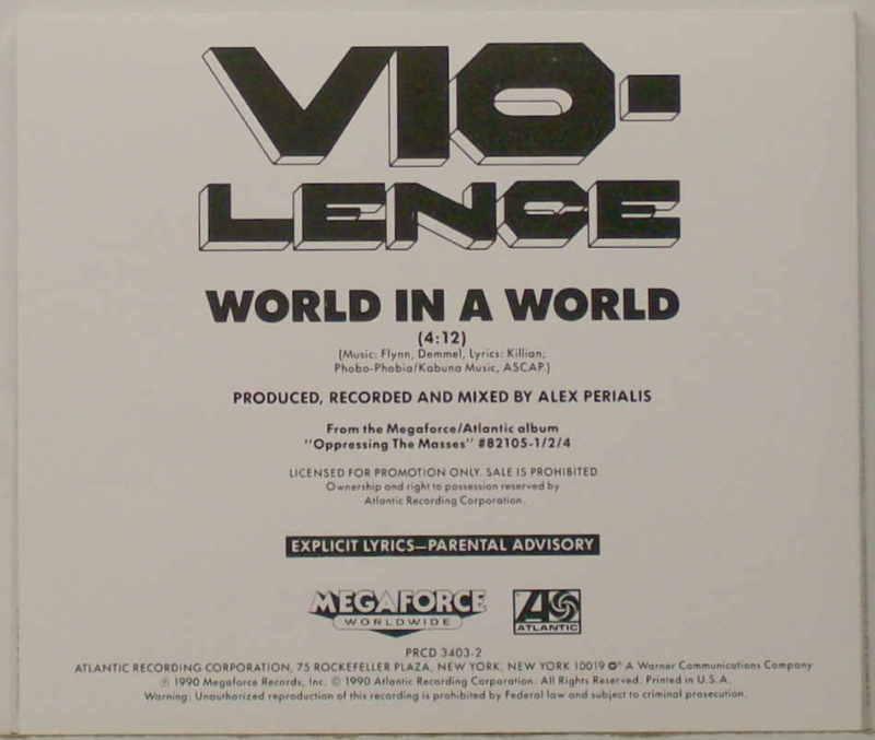 Vio-lence - World in a World