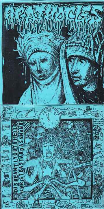 Agathocles - Disgrace to the Corpse of New School / Untitled