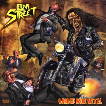 Elm Street - Barbed Wire Metal