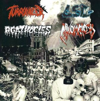 Agathocles / Mixomatosis - Turronizer / LSD Mossel / Agathocles / Mixomatosis