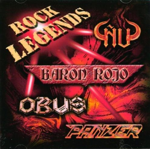 Barón Rojo / Panzer / Obús / Ñu - Rock Legends